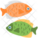 Pisces Two Fish Icon