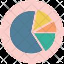 Piechart Analysis Gorowth Icon