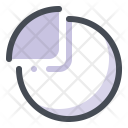 Piechart Analysis Graph Icon
