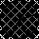 Piechart Circle Graph Scatter Diagram Icon