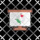 Piechart Graph Presentation Icon