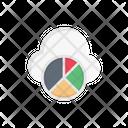 Piechart Cloud Graph Icon