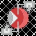 Piechart Diagram Data Analysis Icon
