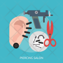 Piercing Salon Ear Icon