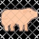 Pig Farm Animal Icon