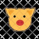 Pig Piggy Animal Icon