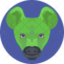 Pig Head Face Icon