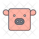 Pig Animal Cattle Icon