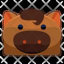 Pig Horse Icon