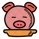 Pork Head Food Icon
