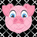 Pig Animal Tapir Icon