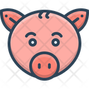 Pig Animal Face Icon