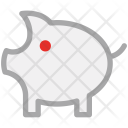 Pig Piggy Coin Icon
