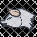 Pig Piggy Face Icon