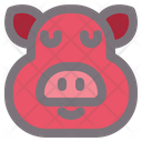 Pig Animal Farm Icon