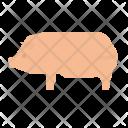 Pig Pork Food Icon