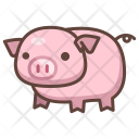Pig Animal Wild Icon