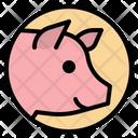 Pig Pork Animals Icon