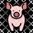 Pig Pork Husbandry Icon