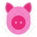 Pig Animal Cute Icon