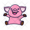 Pig Animal Piggy Icon