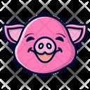 Pig Farm Farming Icon