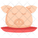Pig Head Chinese New Year Icon