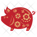 Pig Zodicc Sign Chinese Zodics Icon