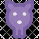 Pig Head Piggy Icon