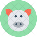 Pig Face Pet Icon