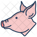 Pig Animal Zoo Icon