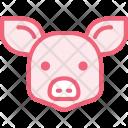 Pig Hog Animal Icon