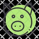 Pig Livestock Piggy Icon