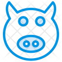 Pig Animal Zoo Icon