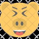 Pig Face Emoji Icon