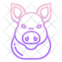 Pig Face Icon