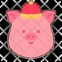 Pig Head Icon