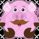 Moustache Emoji Emoticon Icon