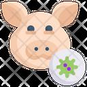 Pig Virus Icon