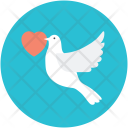 Pigeon Messenger Bird Icon