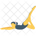 Pigeon Pose Icon