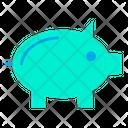 Piggy Piggy Bank Bank Icon