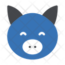 Piggy Forest Face Icon