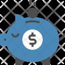 Piggy Savings Investment Icon