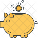 Piggy Banking Fund Icon