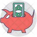 Piggy Bank Funding Icon