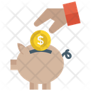Piggy Bank Investment Savings Icon