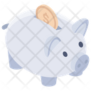 Piggy Bank Saving Piggy Money Box Icon