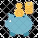 Piggy Bank Money Bank Cash Bank Icon