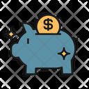Piggy Bank Investment Icon